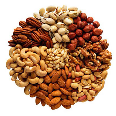 Nuts are great for your healthy