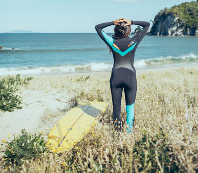 A great winter wetsuit like the O'Neill Phsyco 3 is all you need to stay motivated to surf in winter