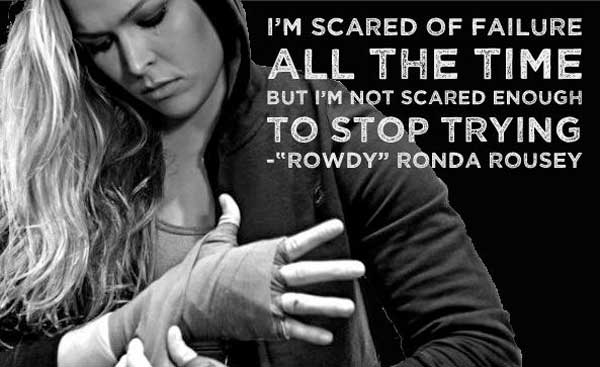 Ronda Rousey is a fight and an inspiration for women