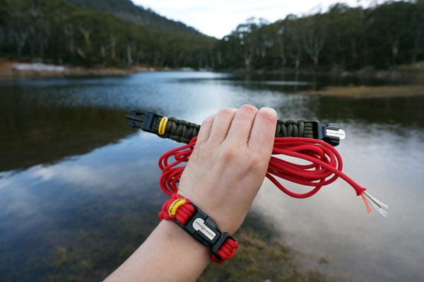 Outdoor Elements Kodiak bracelet could save your life if your adventure goes wrong