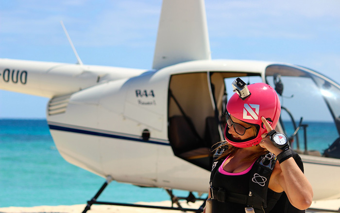 LVN lifestyle helicopter skydive jump