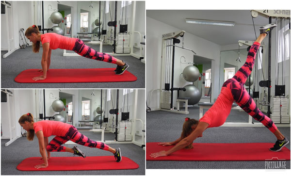 All body workout for mountain bike fitness and training