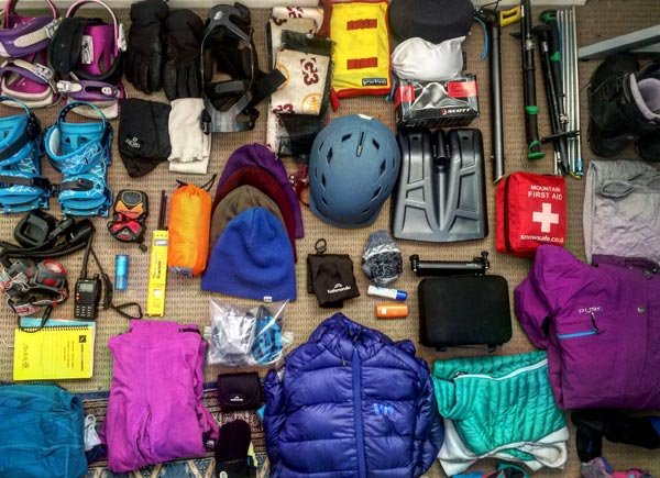 Things to pack for winter season in Japan.