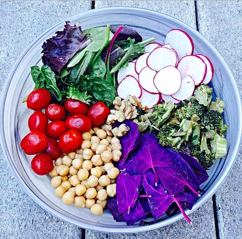 Raw diet recipes. No meat and all fresh and clean eating vegetables