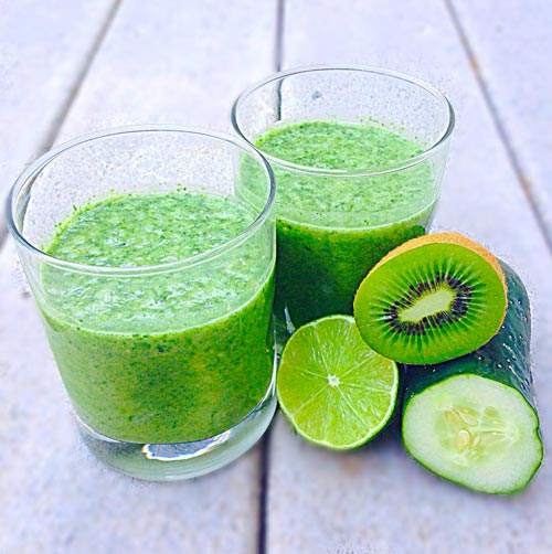 Healthy eating on a budget - smoothie recipes with kiwi