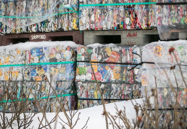 Japanese organised recycling