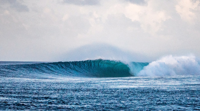 Surfing in the Maldives - The Machine