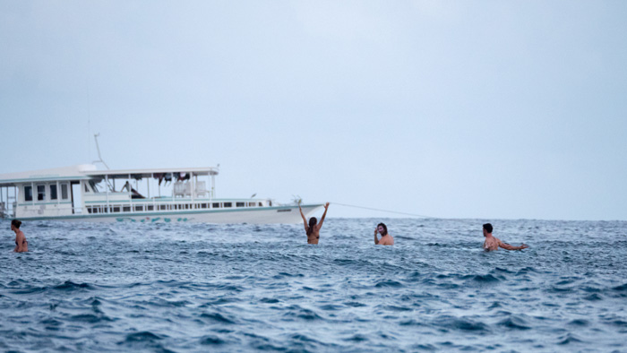 Surf oat charter in The Maldives