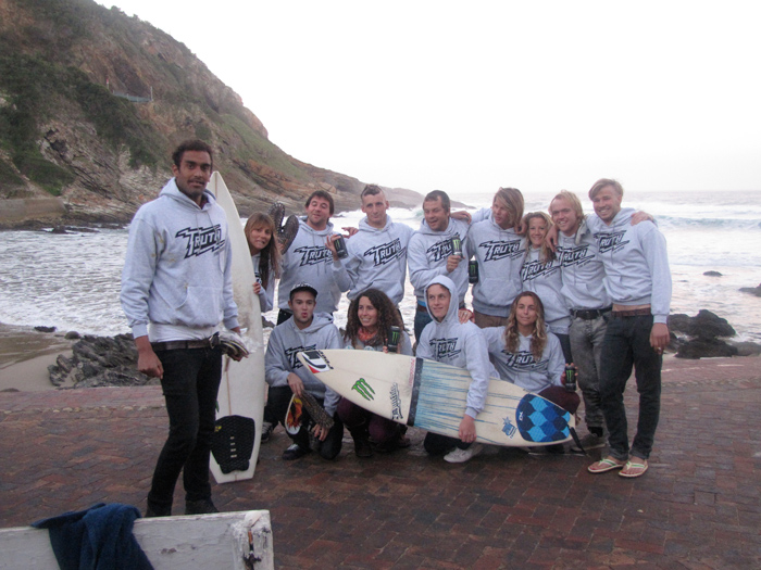 Surf events competing