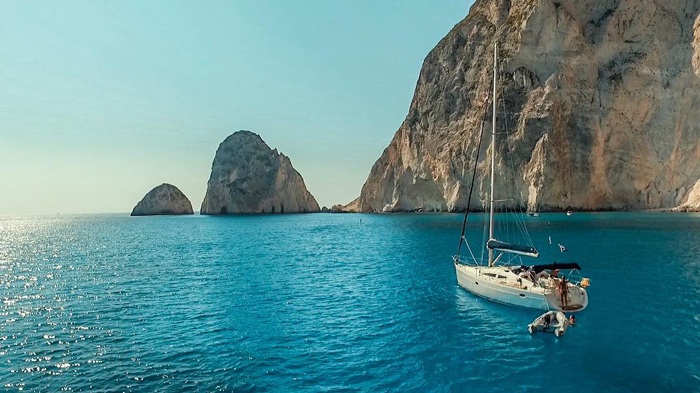 Finding Avalon - Sail boat in the Med