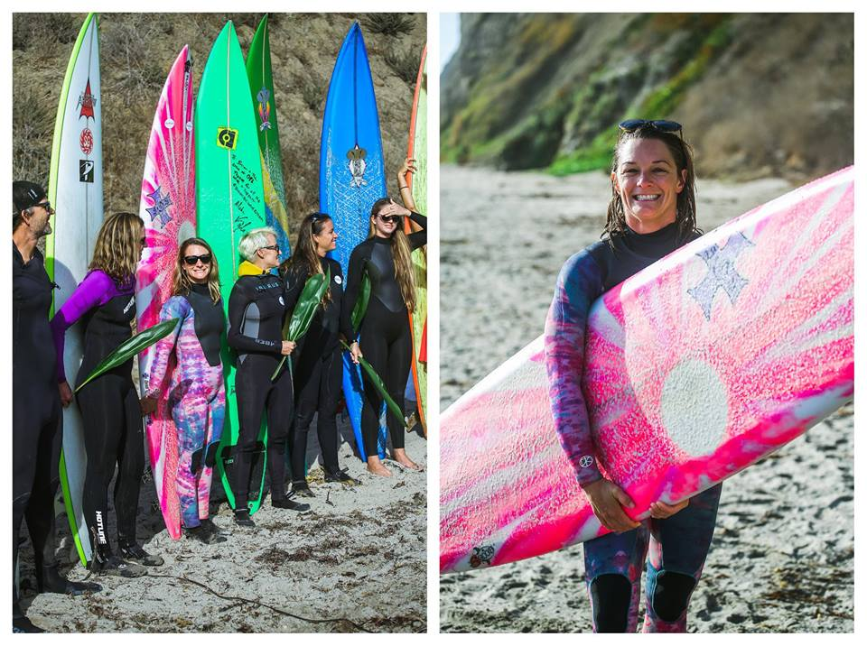 Bianca at the opening Ceremony for the Mavericks WSL Big Wave event