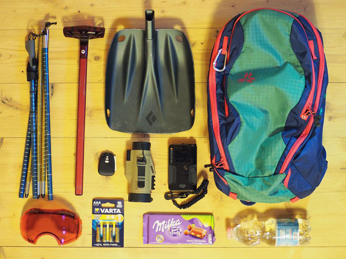 Backcountry essentials - what's in your pack