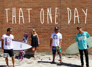 That one day where we surf, snowboard and skate all in one day.