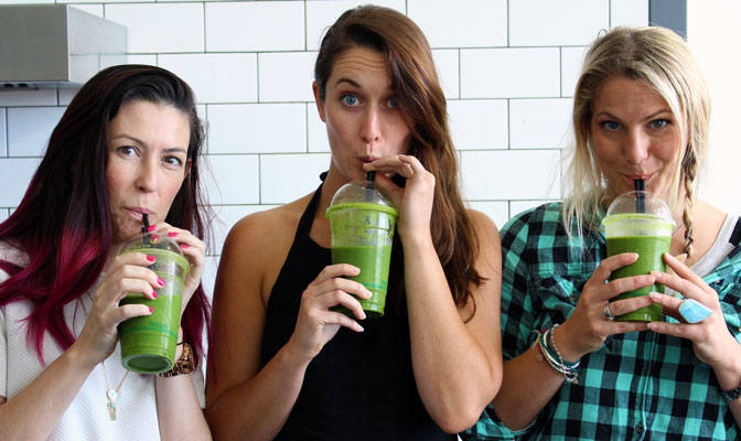 How to make green juice recipe