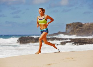 Sally Fitzgibbons workout and diet Roxy Fitness