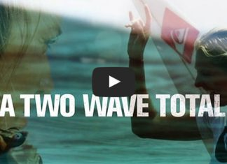 A two wave total is a female surf film featuring Stephanie Gilmore