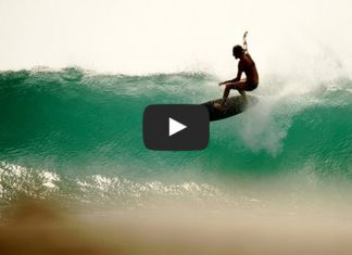 stephanie gilmore surfs in the surfing film A New Wave Total