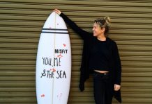 Buying a surfboard, I got my dream board made at Misfit Shapes