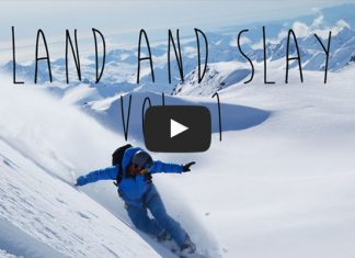 Land and Slay Snowboarding in Alaska with Points North heli Adventures