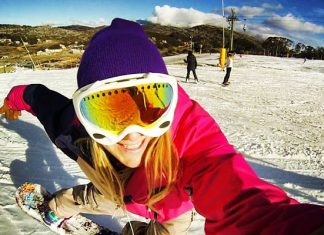 how to snowboard. Alexa Hohenberg shares her 12 tips for beginners