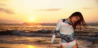Roxy pop surf collection with monica byrne wickey