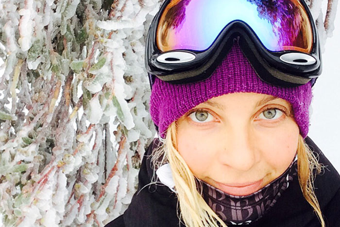 Snowboarder Silvia Mittermuller on healthy eating an GMO foods