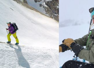 Alexa Hohenberg talks about the progression of snowboarding from park to the backcountry