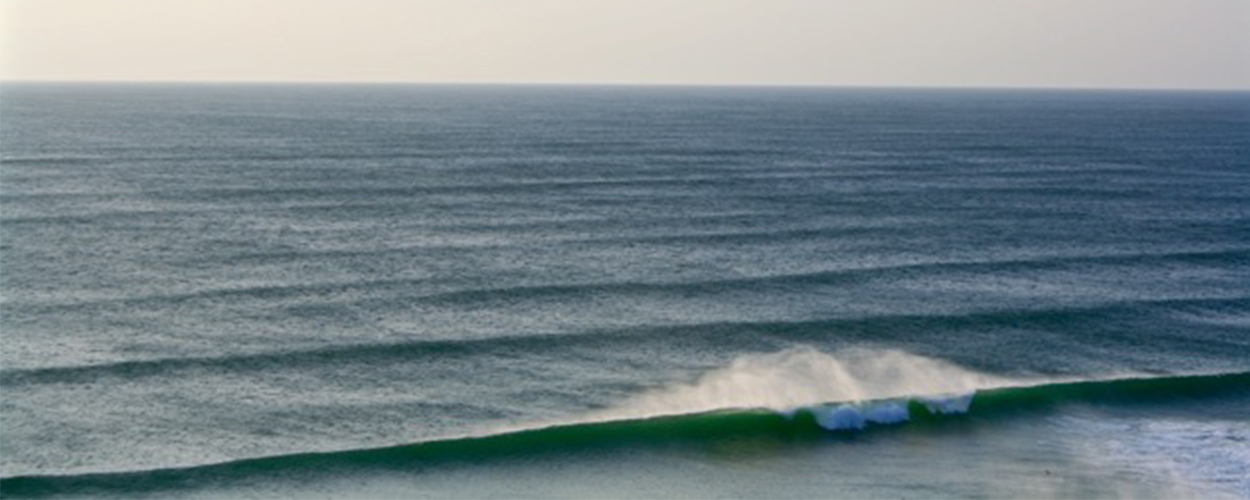 Waves in Cornwall England
