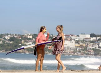 International surf competition hosts no women's division