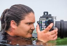 Water photographer Shannon Glasson