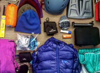 How to store winter snow gear