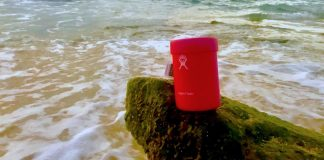 Hydro Flask at the beach