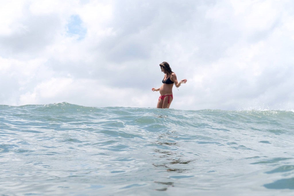 Surfing While Pregnant