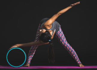 yoga and mobility exercise